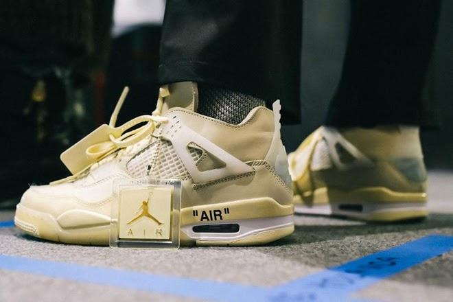 Có nên mua Nike Air Jordan 4 Off White Sail hay không?